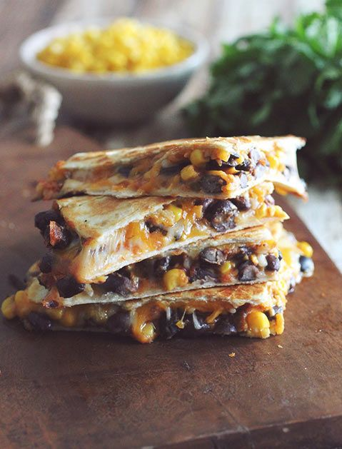 Black beans are a protein-packed, delicious and relatively low-cal filling in just about any Mexican concoction.