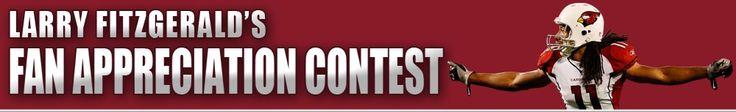Larry Fitzgerald Fan Appreciation Contest - Larry Fitzgerald Official Site