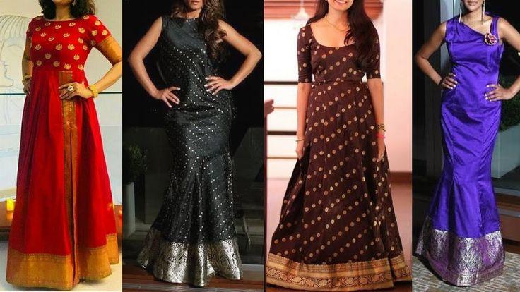 Plain Saree Dress Recycle