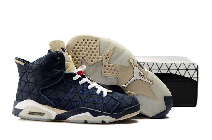 Nike Air Jordan 6 Homme basket jordan garcon chaussure jordan rouge