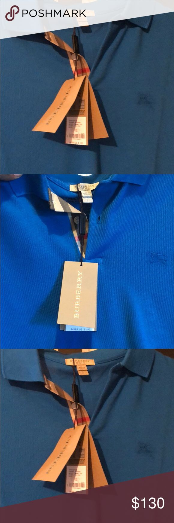 Burberry polo Brand new Burberry polo for men! 100% authentic Burberry Shirts Polos