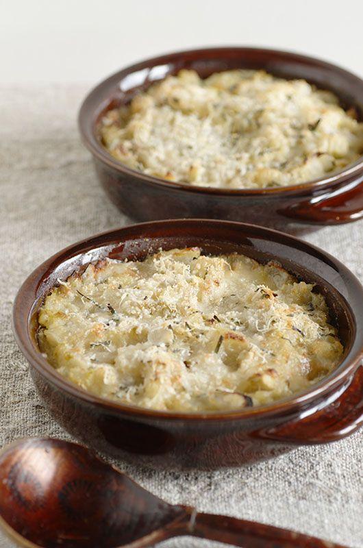 Zuppa di sedano bianco con formaggio fontina
