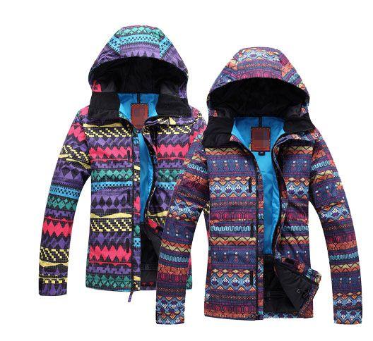 2017 Women Ski Coat Cheap Snow Suit Winter Sports Snowboard Jacket Waterproof Windproof Women Snowboard Clothing Outdoor Coat