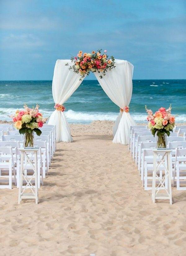 orange beach wedding arch #hochzeit #hochzeiten #beach #hochzeitsideen #beachhochzeiten …   – Wedding Arches
