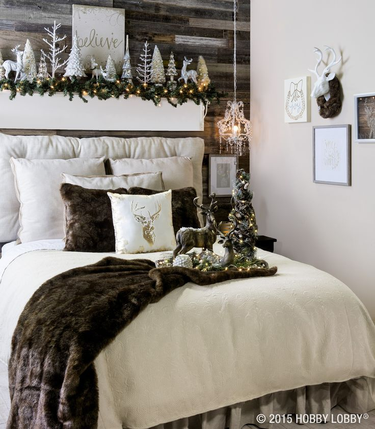 Christmas Decorations To Make For Your Bedroom : Best ideas about winter bedroom decor on