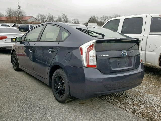 2012 Toyota Prius For Sale Ky Lexington East Salvage Cars