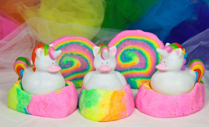 Unicorn Rubber Ducky Bubble Bar