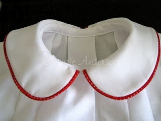 How to attach a Peter Pan Collar, tutorial link. From: http://sewnso.blogspot.co.uk/2010/05/how-to-attach-peter-pan-collar.html