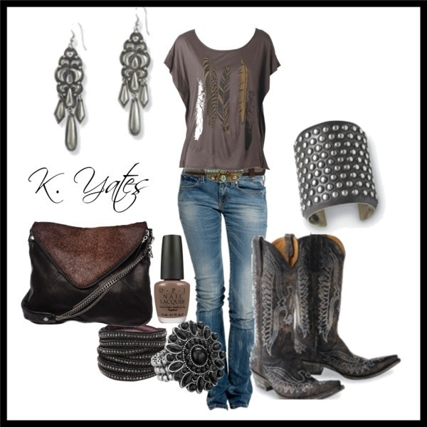 Love! Need to invest in some black boots!!