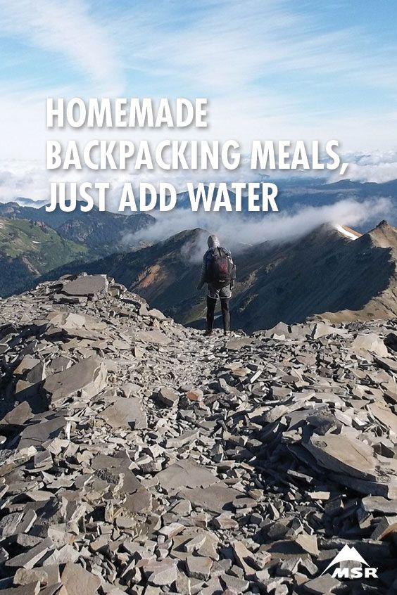 Ready to stop buying freeze-dried meals? Here's how to prep your own easy, delicious and high-fuel backpacking meals.