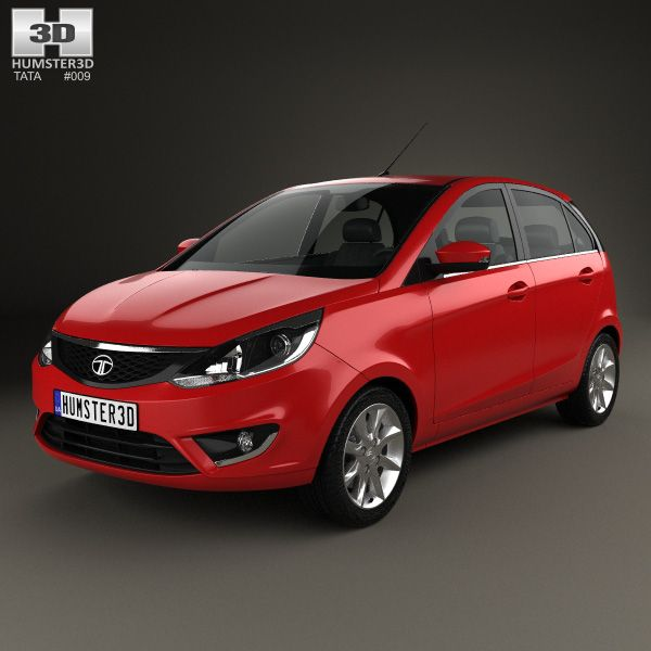 Tata Bolt 2014 3d model from humster3d.com