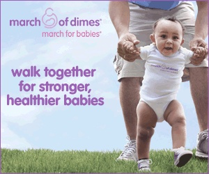 We're Walking for Babies! Join us - March of Dimes | The Born Unique Baby Guide