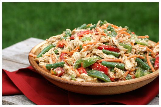 Delicious Chinese Chicken Salad