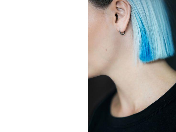 Black plated jewelry, lucardi juweliers, minimal jewelry, minimalistische juwelen