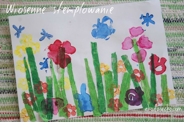 Wiosna Praca Plastyczna Wiosna Prace Plastyczne Edukacyjne Painting Art