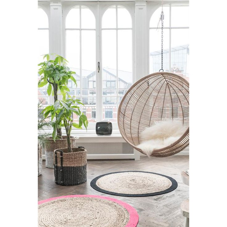 Rattan Hanging Bowl Chair • WOO Design