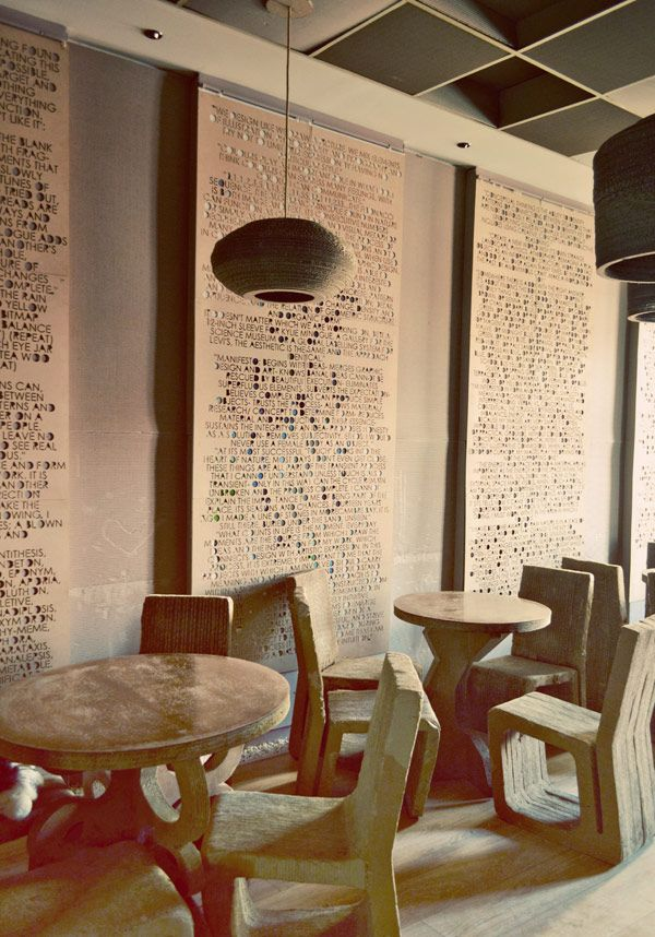 Cardboard Cafe L'Atelier Cafe in Cluj