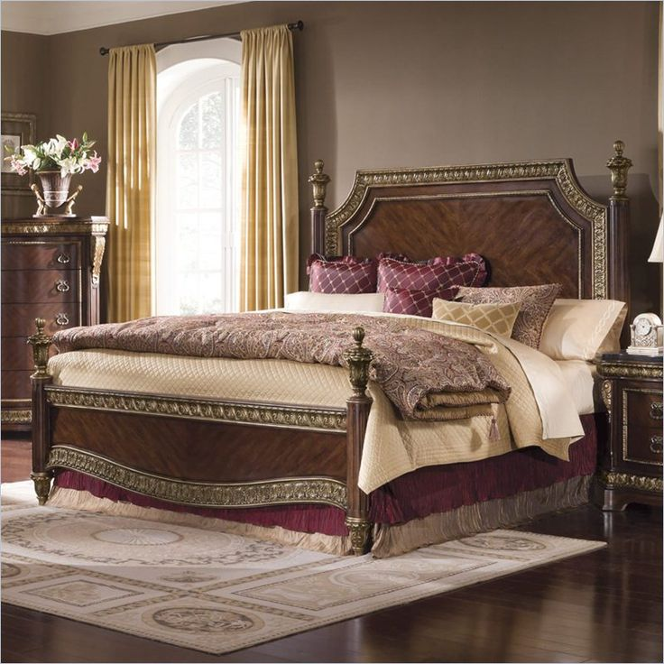 Pulaski Del Corto Poster Bed in Brown   5031XX MKIT   Lowest price online on. 18 best Bedroom Furniture images on Pinterest   Antique beds