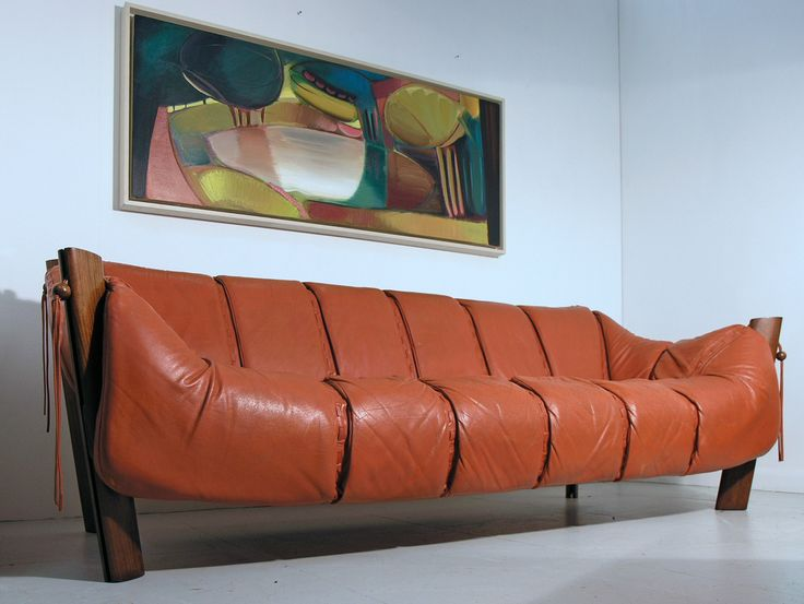 Percival Lafer Leather And Rosewood Sofa, Brazil, 1960s. Available From  Hayloft Mid Century