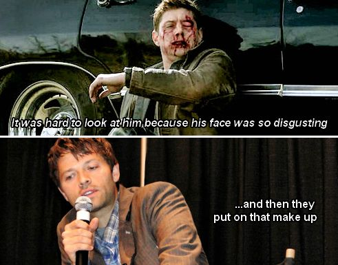 Misha Collins talks about Jensen in Swan Song at convention panel