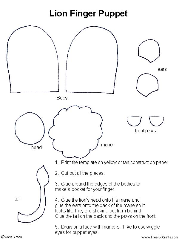 paper finger puppets templates - 168 best images about finger glove puppets on pinterest
