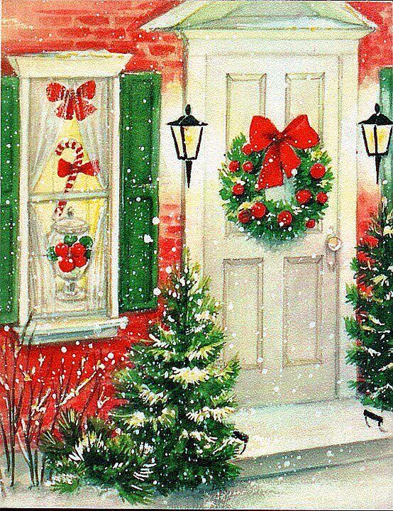 Christmas welcome.