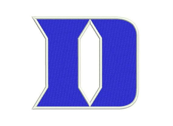 Duke Blue Devils Logo Machine Embroidery Designs by moreusemb