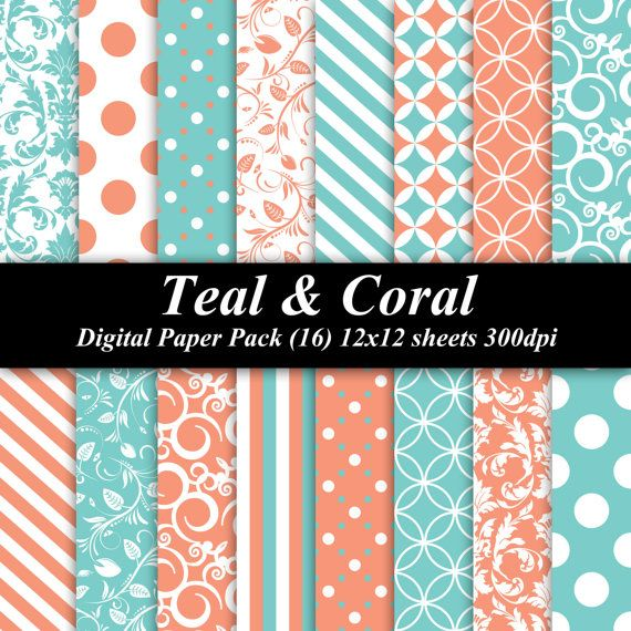 17 Best Ideas About Teal Orange On Pinterest: 17 Best Images About Coral And Teal Wedding Ideas On