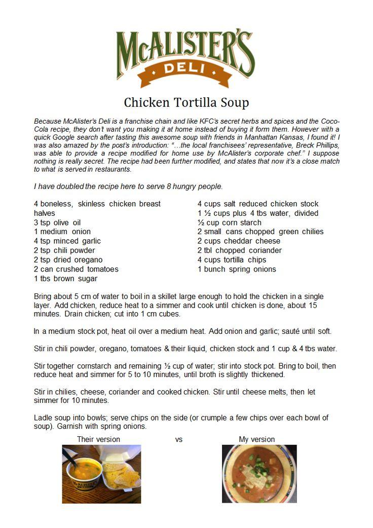 McAlisters Deli Chicken Tortilla Soup.docx