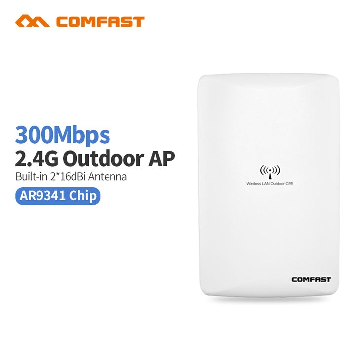 New !COMFAST WA300 300mbps 2.4G Wireless outdoor Ap router Access Point Repeater Wifi Cover Poe WIFI Bridge 802.11b/g/n openwrt