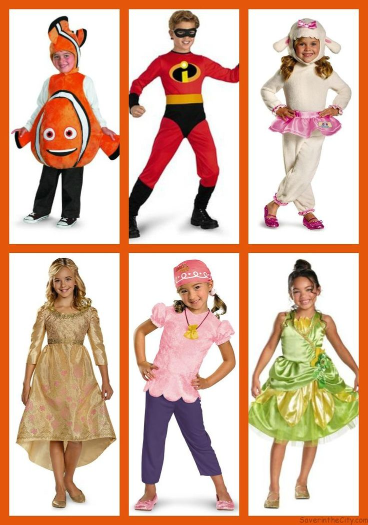 Disney Costumes for kids - over 50 Halloween costumes to choose from - available on Amazon