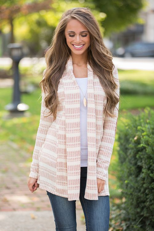 This cozy cardigan is sure to keep you warm all season long!