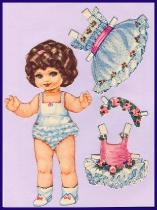 Ingrid Molzen. PDsamler. Online Interest Group on paper dolls. Madelaine from France. Series of 8 different countries