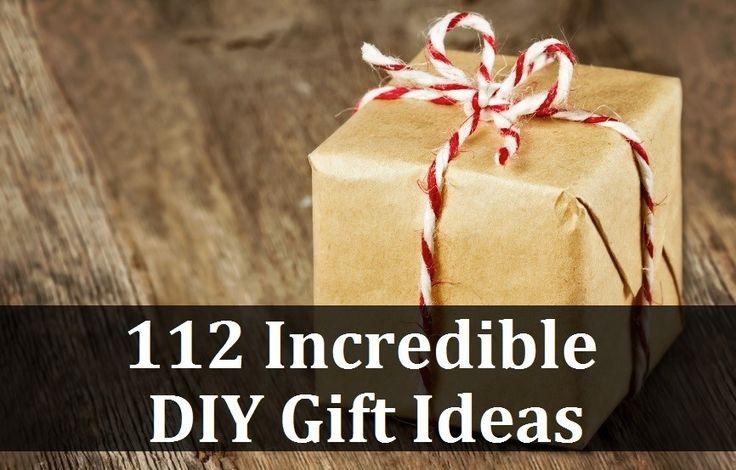 112 Incredible DIY Gift Ideas