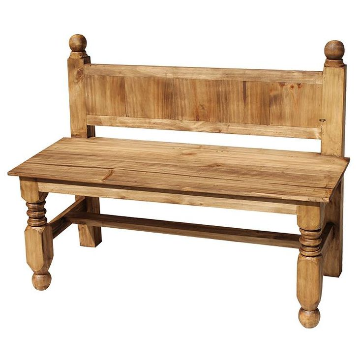 Relax On This Beautiful Rustic Lyon Bench With A Frosty Margarita Or A Cold  Cerveza And Youu0027ll Feel Like Youu0027re In Old Mexico. The Simple And Elegant  Lines ...