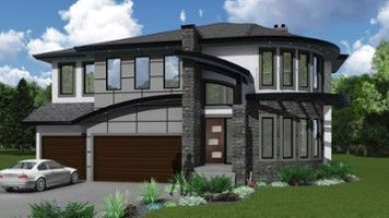 House designs - The Portsea - Boss Design Ltd. in Edmonton, AB