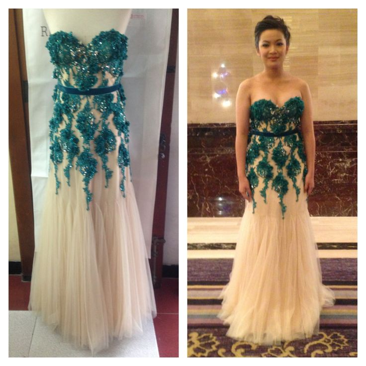 Dress By Popo Rickky  Date: 2013 Client Collection