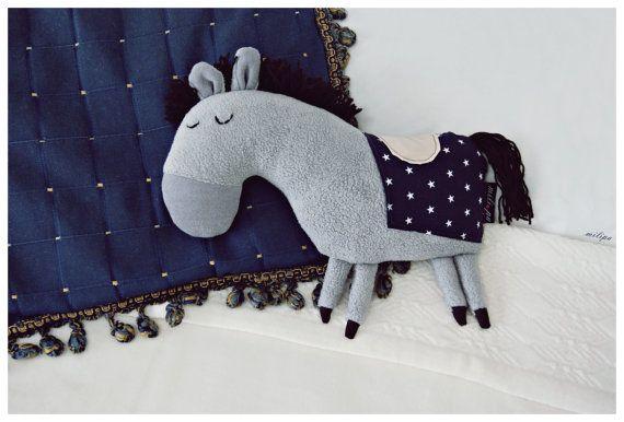 THE ROYAL PONY stuffed toy stuffed pony stuffed horse by milipa