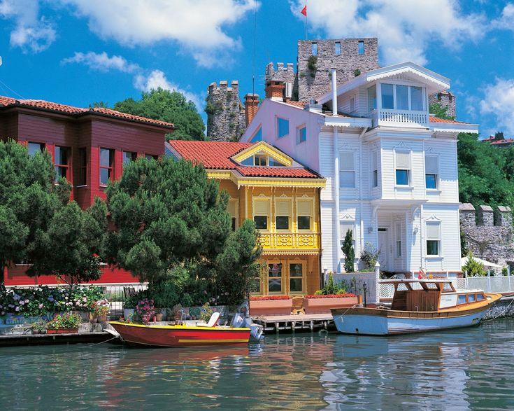 Bosphorus, Anadolu Hisarı, Istanbul