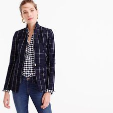 Image result for J CRew factory blazer women's navy and white