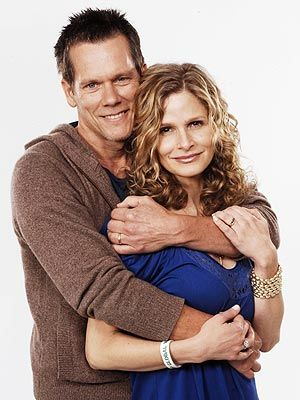 Kyra Sedgwick & Kevin Bacon. How could they have ever known they are cousins?? Probably a bunch of bullshit anyway. Publicity!