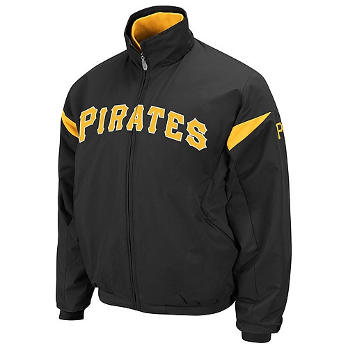 Pittsbugh Pirates Youth Black Therma Dugout Jacket. Http//www.clarkstreetsports.com/Pittsbugh ...