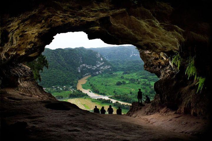 La Ventana Cave in Puerto Ricos' karst country