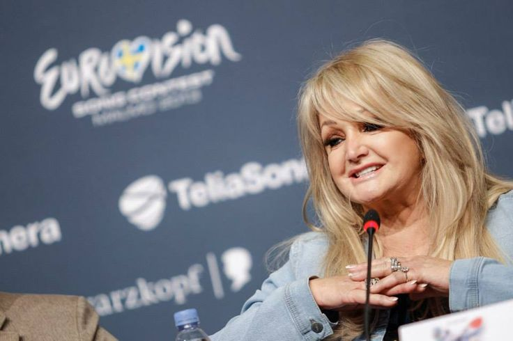 Bonnie Tyler at the press conference 15/05/2013  © Dennis Stachel (EBU)  http://www.eurovision.tv/page/multimedia/photos?gal=85763 #bonnietyler #eurovision  #gaynorsullivan #gaynorhopkins #thequeenbonnietyler #therockingqueen #rockingqueen #2013 #malmo #uk #unitedkingdom #music #rock