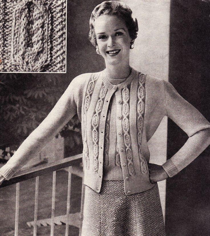 The 100 Best Vintage Knitting Images On Pinterest Vintage