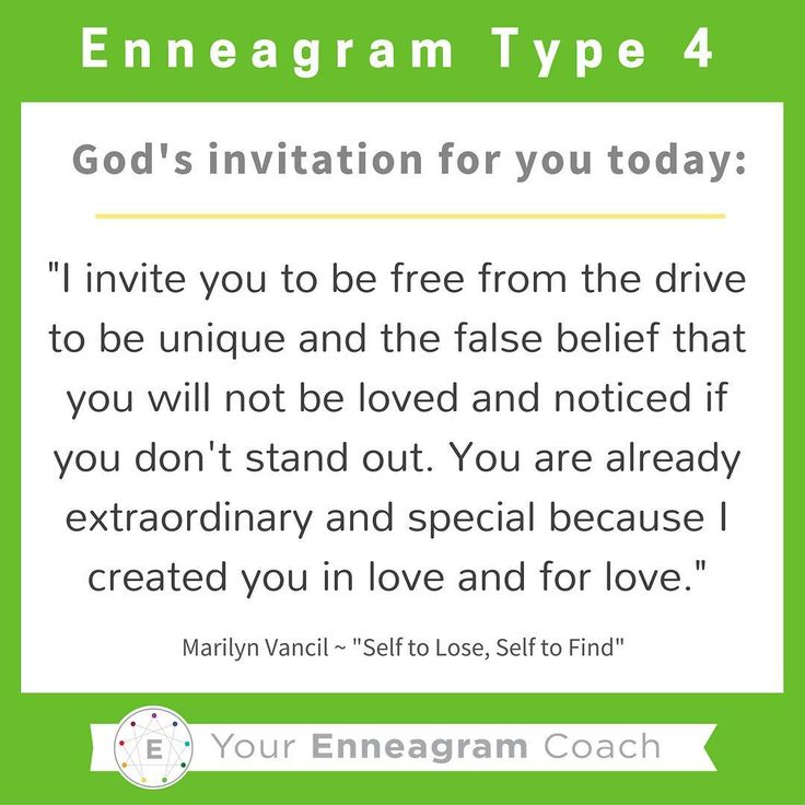 "Enneagram #Type4 this is the gospel message for your heart today! Each personality has particular thoughts and feelings that hinder what the liberating gospel message is saying to them. Read this TRUTH and allow it to sink deep into your soul. Ask the Holy Spirit to enable you to hear this message every day and expand your ability to embrace His truth and love for you because of what Christ has done for you and in you. Thanks to Marilyn Vancil and her book,""Self to Lose, Self to Find""…"