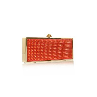 Carvela Orange Goalie Evening & clutch bags