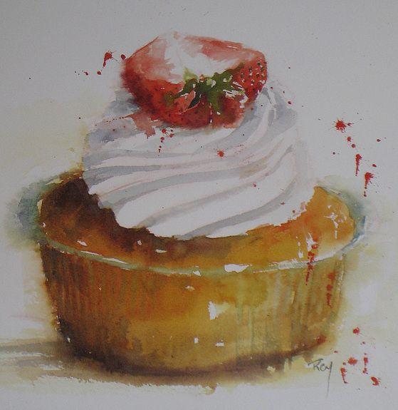 Catherine Rey.          Watercolor