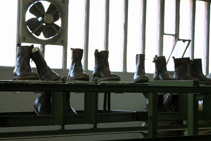 Our NR.8 boot, teddy-lined! Love the romance of this handcrafted leather product.