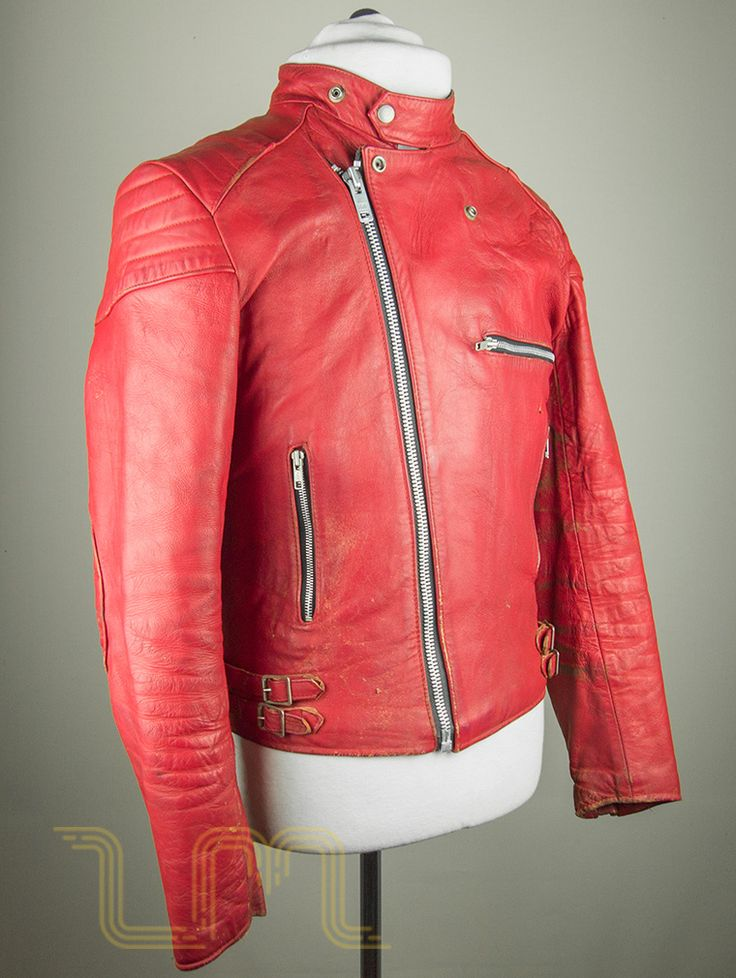 Vintage leathers view